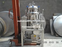 Electric heating mixing tank milk pasteurizer used