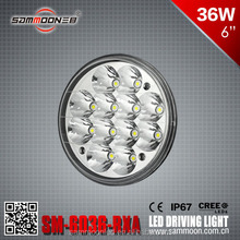 HOT!!! Epistar 36w led work light,spot/flood beam 2700Lm off road driving foglamp fit all cars