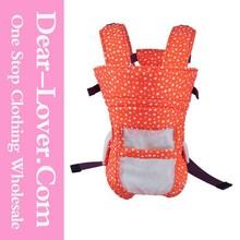 New Design Soft Orange Dot and Stars Printing Baby Carrier