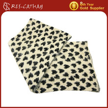 2015 fashion heart pattern winter jacquard scarf