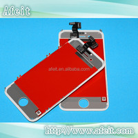 white screen for iphone 4s lcd assembly, white for iphone 4s lcd display