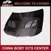 For BMW E90 2005-2008 GTR style carbon fiber front engine hoods