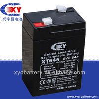 6 Volt 4.5 ah Security Alarm Battery