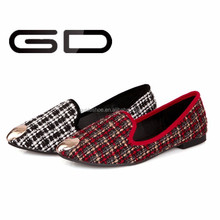 leather women pictures wholesale loafer design fashion shoes 2015 flat shoes
