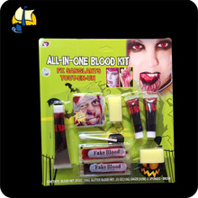 halloween scary items fake blood kit