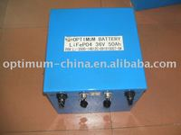 Global car battery lithium battery 36v 50ah