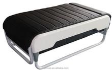 V3 FOLDING MASSAGE BED SOFA jade roller thermal jade massage bed Luxury Jade Massage Bed with Intelligent Spine Scanning Black