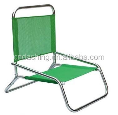 Lichtgewicht lage strandstoel