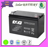 SOLAR UPS rechargeable gel lead acid batetry 12V 100Ah Maintenance Free Deep Cycle solar battery/Medical equipment battery