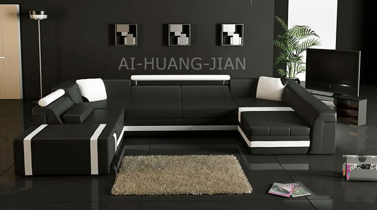 u forme extra large canap canap s canap d cors moderne. Black Bedroom Furniture Sets. Home Design Ideas