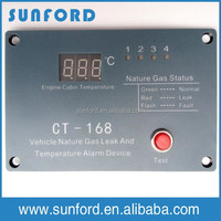 BUS LNG natural gas detector,gas leak alarm system for vehicle safety