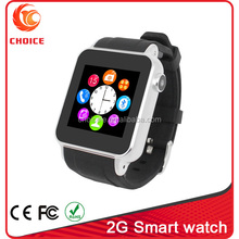 2015 top sale in Amazon colorful smart mobile watch phones s69