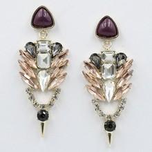 2015 The new design of crystal eardrop of luxury