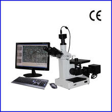 4XCE Trinocular Inverted Optical Microscope for Metallurgy