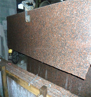 Competitive Price G562 Maple Leaf Red Granite Big Slab