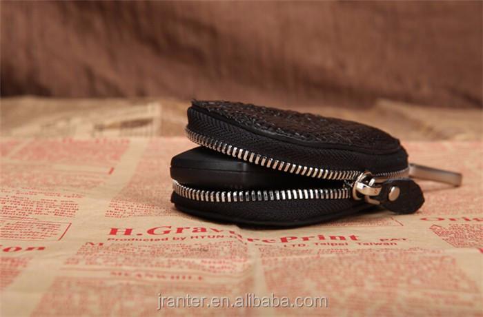 Luxury handmade key case for car genuine crocodile leather car key case for BMW TOYOTA _7