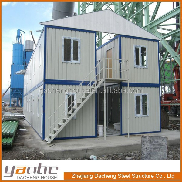 Low cost 20ft 40ft ft casa container prebuild modulares for Maison low cost container