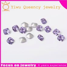 Stable performance pointback glass beads point crystal stones 2015