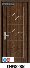 PVC Vinyl Finish Timber Door
