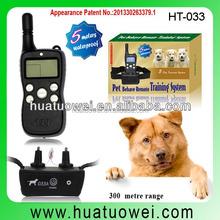 LCD Remote bark control electronic shock dog training collar