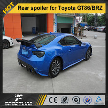 Carbon Fiber racing rear spoiler for ZELE style Toyota GT86/BRZ FT86 12-13