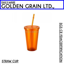 Hot selling plastic 3D lenticular straw cups for kids