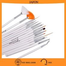 Best selling white wood handle nylon bristle paint brush