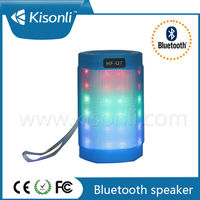 Professional Factory Sale Mini Wireless Bluetooth Speaker With 3 Color LED Light