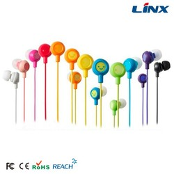 Best price promotional earphones with plastic case earbuds for mobile accessories