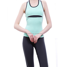 (Factory: OEM) anti bacteria, moisture wicking, dri fit, breathable women sexy fitness wear