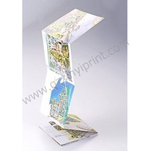 Folding mapa impressão fabricante chinês