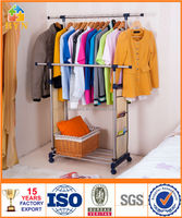 BYN stainless steel clothes rack with non-woven bags DQ-0813 SZ