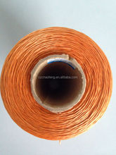 Dipped polyester thread for air conditioner tube