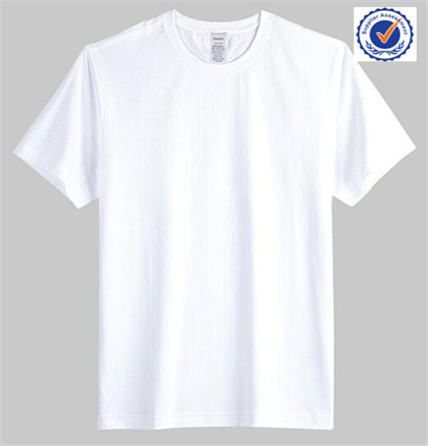 China manufacturer wholesale 100 cotton t shirt white for T shirt suppliers wholesale