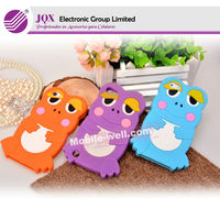 3d silicon animal case for iphone 5 colorful frog