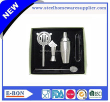 Conventional stainless steel bar set