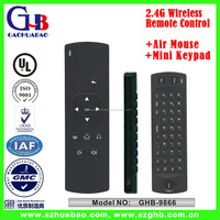 2.4G Wireless Air Mouse Mini Keypad Universal Remote Control