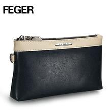 Factory Wholesale PU Leather Men's Wallet Portable Men's Clutch Bag