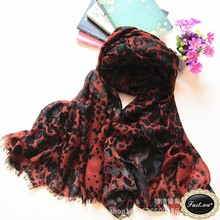 polyester print scarf for spring and autumn