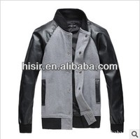 2013 new autumn and winter fashion casual men's jacket collar 335