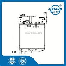 radiator brush /scrap copper radiator /mechanical radiator For Daihatsu CORE SIZE :350*318*16/26 OEM :16400-87367/71/88/59/72/92