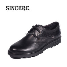 Soft Rubber Sole High Quality Men Casual Leather Shoes for Export