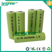 china battery manufacturer rechargeable aa batteries nimh battery pack aa 800mah