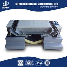 Concrete floor flexible building expansion joints