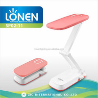 LONEN 10SMD folding eye-protection rechargeable reading desk lamp