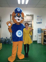 hot sale plush big head animal costumes for event