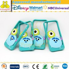 Custom Design Eco-friendly Silicone Mobile Phone Case 3D Cartoon Cell Phone Cover for Promotional Gifts
