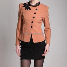 korea style elegant women coat the winter coat for woman