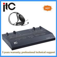 Digital audio wireless conference system simultaneous interpretation equipment