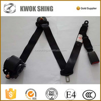 Emark certified 3 points emergency locking car seat belt, car safety belt, OEM to IVECO minibus